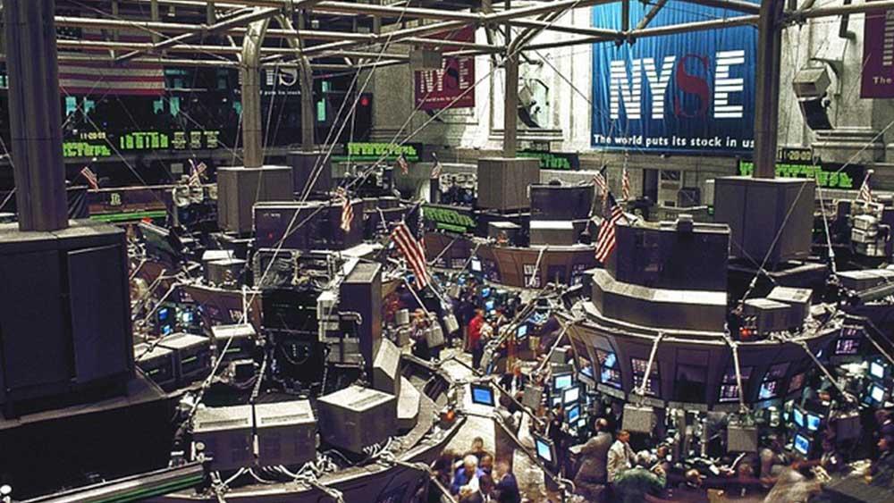 На снимката: Ню Йоркската стокова борса