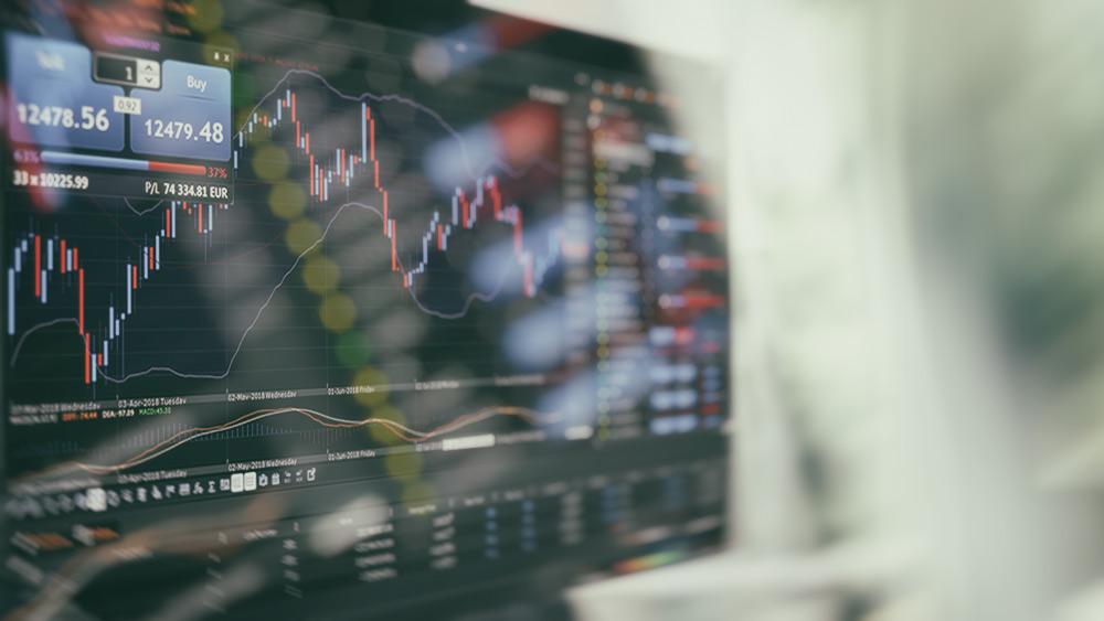Delta Trading в действие с отворена графика на DAX