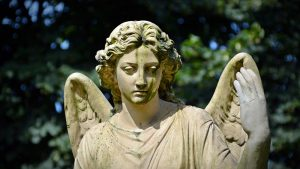 Picture of angel statue