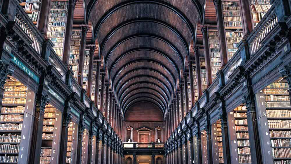 Pictured: big library.
