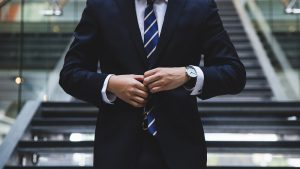 Picture of a man in a business suit