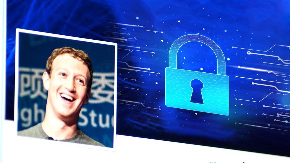 data security Facebook
