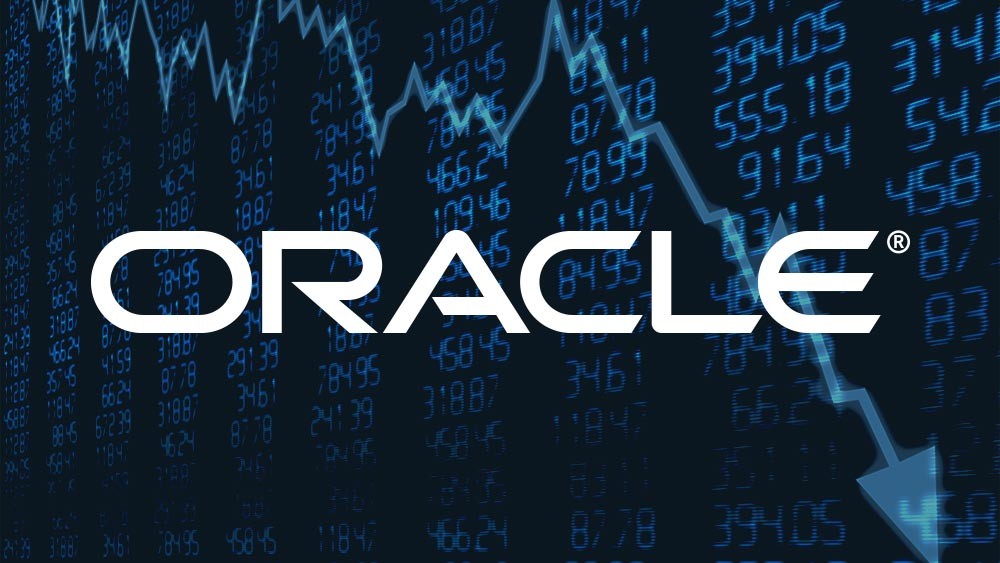 Picture with Oracle Corp logo