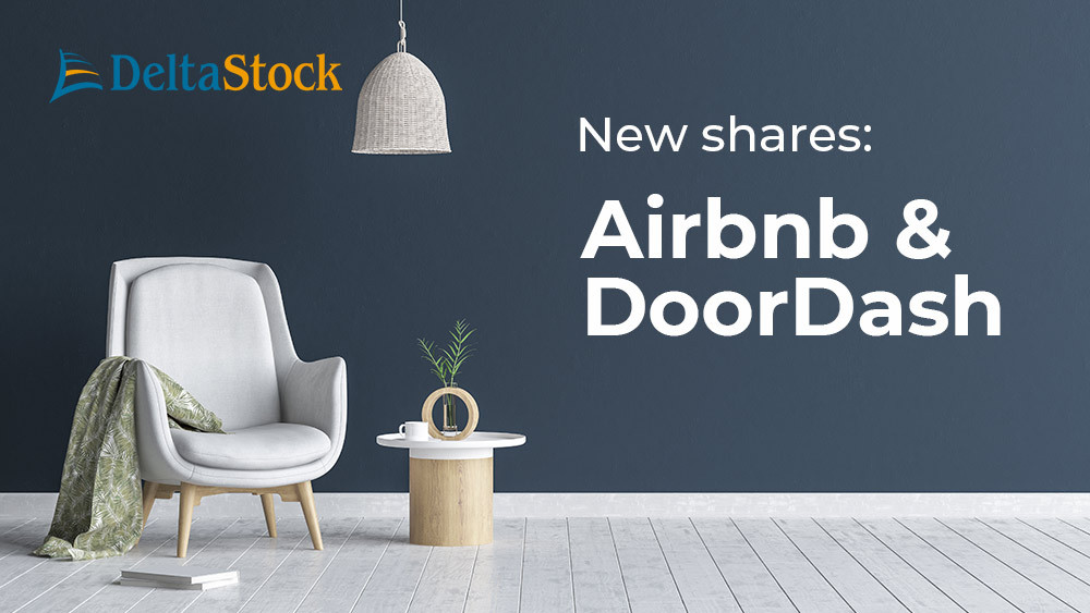 Delta Trading - new CFDs on shares - Airbnb and DoorDash