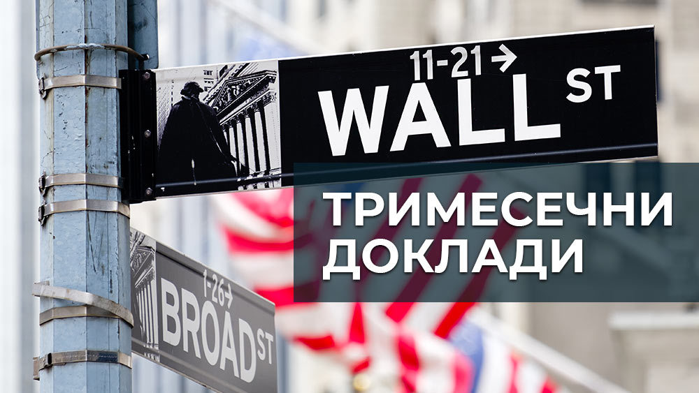 Снимка на табела на Wall Street