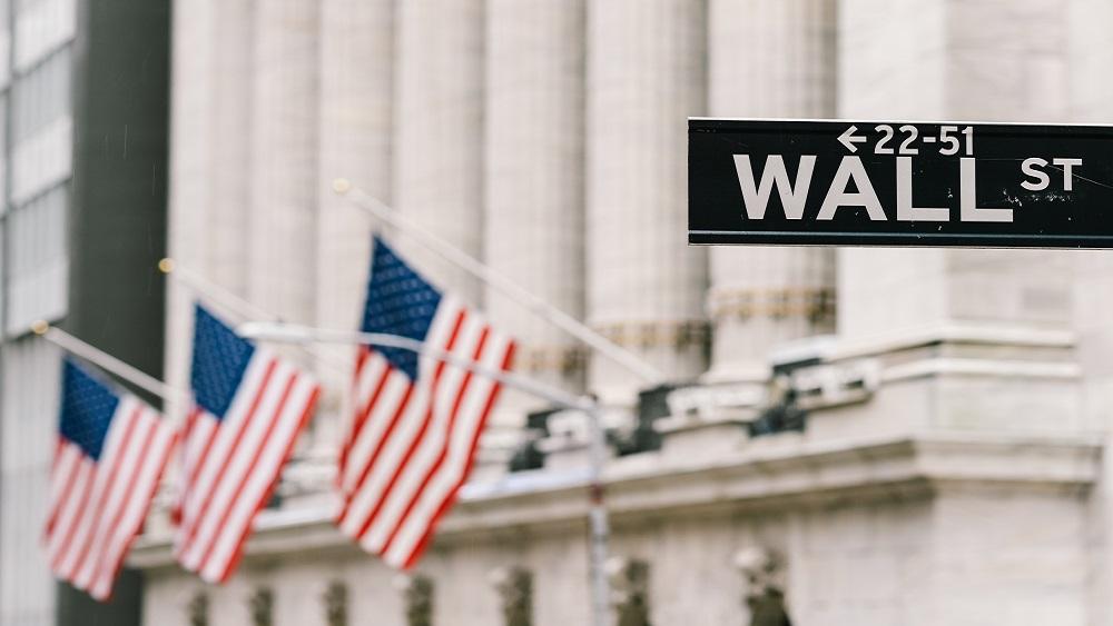 Снимка на Wall Street в САЩ